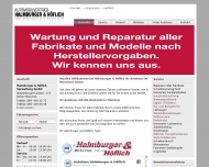 Bild Webseite Halmburger Grundbesitz UG München
