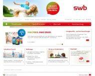Bild Webseite swb Bremen