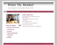 Website Benkel Peter Th. Generalagenturen