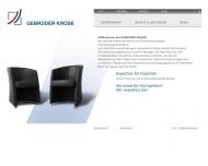 Bild Gebrüder Krose Versicherungsvermittlungs-GmbH