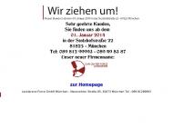 Bild Webseite Lackiererei Force München