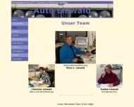 Website Liewald Autowerkstätte