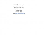 Bild Fairsicherungsbüro Kähler & Partner GmbH