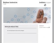 Bild Webseite Bohlen und Halbach von, Versicherung Vermittlungen u. Industrie-Beratungen Essen