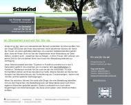 Bild Webseite Bestattungen Bestattungsinstitut Schwind Frankfurt