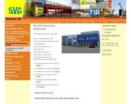 Website SVG Straßenverkehrs-Genossenschaft Hessen e.G.