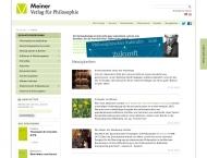 Bild Felix Meiner Verlag Gesellschaft mit beschränkter Haftung