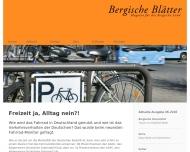 Bild Bergische Blätter Verlags-Gesellschaft mbH