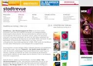 Bild Webseite Stadt-Revue Verlag Köln