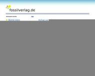 Bild Webseite FOSSIL-Verlag Köln