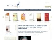 Bild Webseite Dittrich Verlag Köln