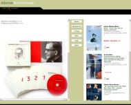 Bild Webseite Adamas Verlag Gesellschaft Köln