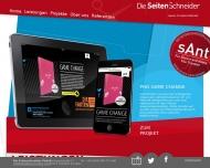 Bild Webseite Die Seitenschneider Frankfurt