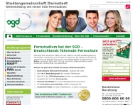 Bild Webseite Studiengemeinschaft Darmstadt Frankfurt