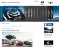 Website Autohaus Widmann + Winterholler