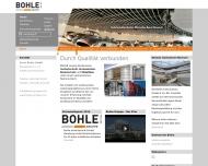 Bild Webseite Bohle Innenausbau Köln