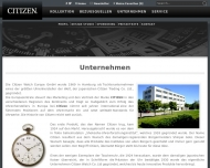 Bild Citizen Watch Europe G.m.b.H.