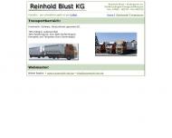 Reinhold Blust KG Transporte - Obsthandel