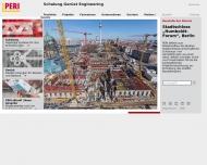 Bild Webseite PERI Nürnberg