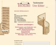 Bild Köhler Uwe Tischlerei