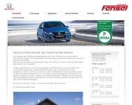 bei Ihrem Honda Partner - Autohaus Fensel GmbH aus Kalchreuth - Startseite