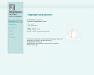 Bild Webseite Tangermann & Gasché Tischlerei-Innenausbau Norderstedt