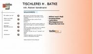 Bild Helmut Batke Schreinerei für Bau und Innenausbau Inh. Hans-Rainer Sandmann