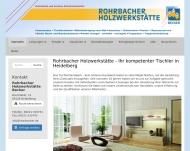 Bild Rohrbacher Holzwerkstätte Becker GmbH