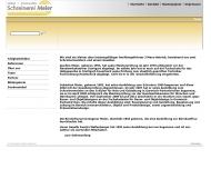 Website Schreinerei Meier