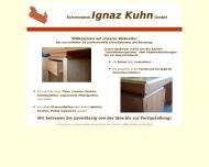 Bild Schreinerei Ignaz Kuhn GmbH