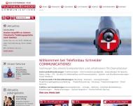 Website Telefonbau Schneider