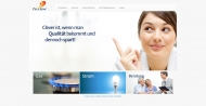 Bild Webseite TeleSon Vertriebs München