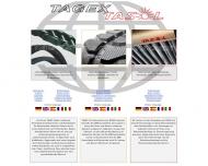 Bild Webseite TAGEX Technischer Handel Höxter