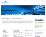 Bild Branson Ultraschall Schweißtechnik