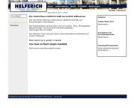 Website Helferich und Sohn Tür- und Fensterbau