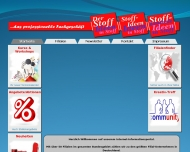 Website Der Stoff Stoffhandels
