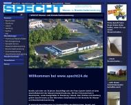 Bild Specht GmbH Wasser- und Brandschadensanierung