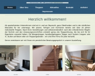 Website elpe Treppenbau