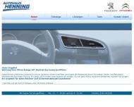 Bild Webseite  Klettbach