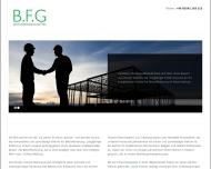 Bild Webseite B.F.G. Beton-Fördergesellschaft Aachen
