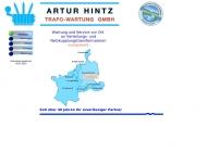 Bild Webseite Artur Hintz Trafo-Wartung Neuhofen
