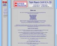 Website PM Papier Magazin