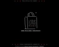 LOTUS BAGS Homepage - Ihr Hersteller f?r Papiertragetaschen, Werbetaschen, Messetaschen und Tragetas...