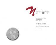 Bild Niehoff GmbH, Josef Tischlerei und Innenausbau