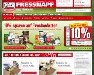 Bild Webseite Fressnapf Reutlingen