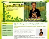 Tierhandlung - Tierwelt Kilgus GmbH, Inh. Andy Krause - Neu-Ulm