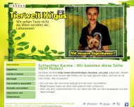 Website Tierwelt Kilgus