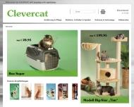Bild Webseite Clevercat Katzenartikel Wegberg