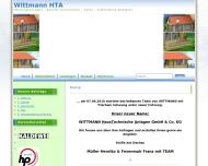 Bild Webseite Wittmann Versorgungstechnische Anlagen Dachau