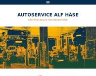 Bild Webseite Haese Alf Autoservice Dresden